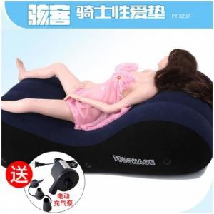 美国Toughage骇客 充气绒面沙发床(货号:H0001)