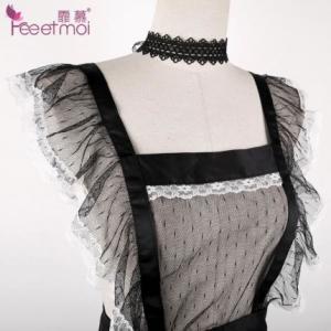 霏慕 性感围裙式女佣套装(货号:E5022)