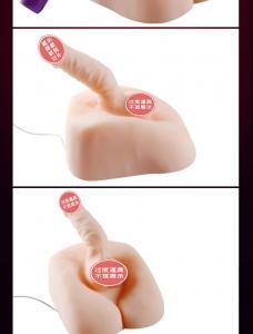 日本NPG旋风旋转版逼真男根(货号:D5001)