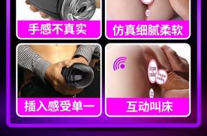 趣儿 CINDY智能互动发声双穴电臀(货号:C5078)