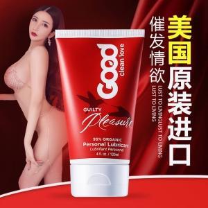 爱悦舒美国进口 罪爱纯天然催欲润滑剂120ml(货号:A3037)
