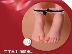 香港VNA 酒井奈子坐姿双穴充气娃娃【内置发音跳蛋】(货号:C4002)