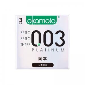 冈本003系列超薄避孕套三只装(货号:H3016)