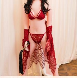 刁氏 薇薇安 古灵精怪一体式无缝 胸部硅胶 充气娃娃(货号:C4034)